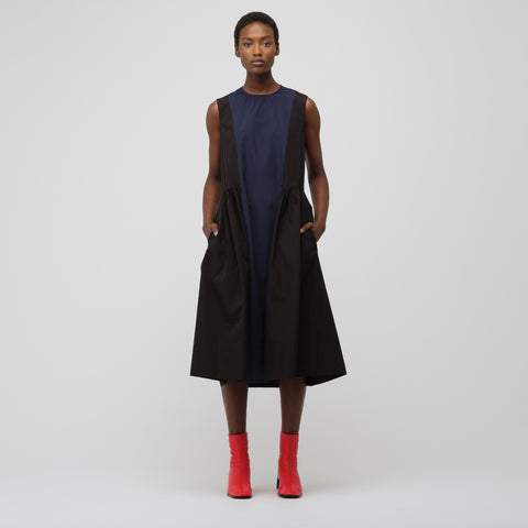 Marni S/L Dress in Blublack/Black - Notre