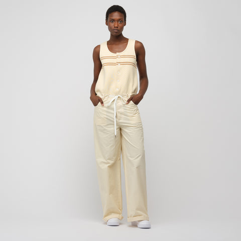 Marni S/L Jumpsuit in Antique White - Notre