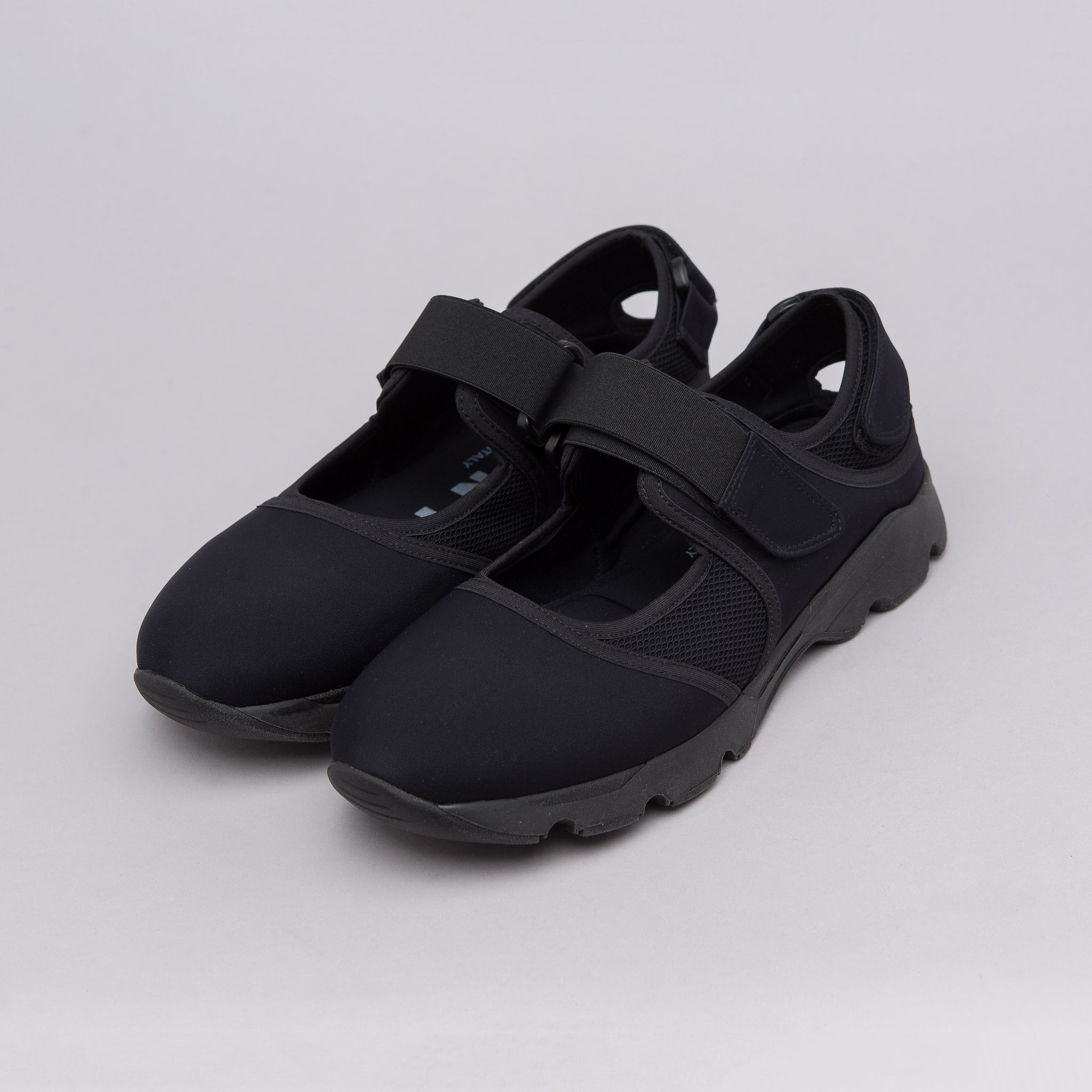 Neoprene Sneaker in Black