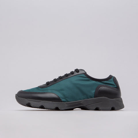 Marni Nylon Runner in Dark Teal/Black - Notre