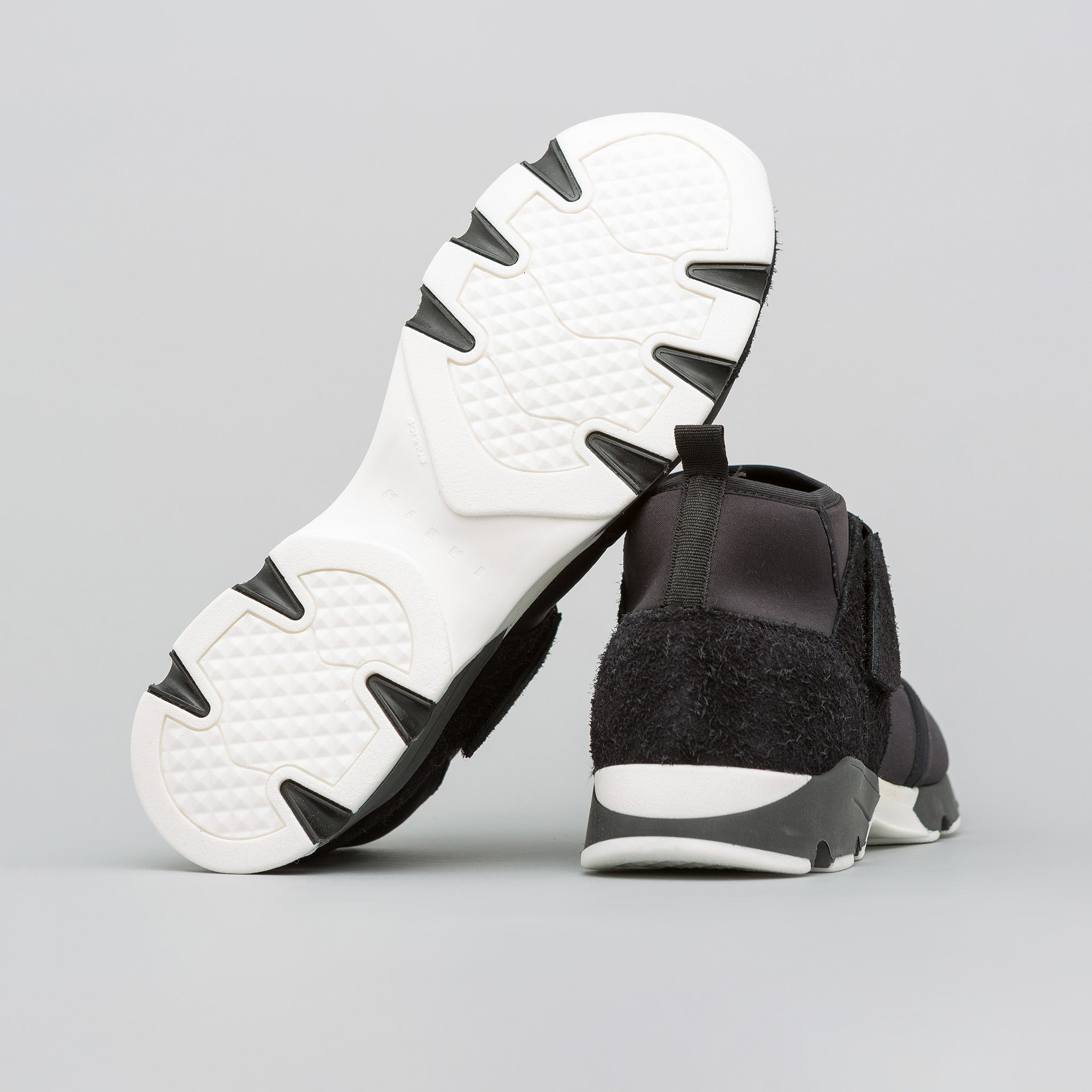 Neoprene Strap Sneaker in Black