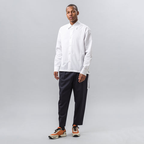 Marni Strap Button-Up in White - Notre