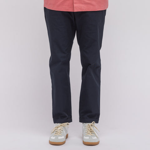 Marni Slim Cotton Trouser in Navy - Notre