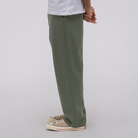 Marni Virgin Wool Trouser in Sage - Notre