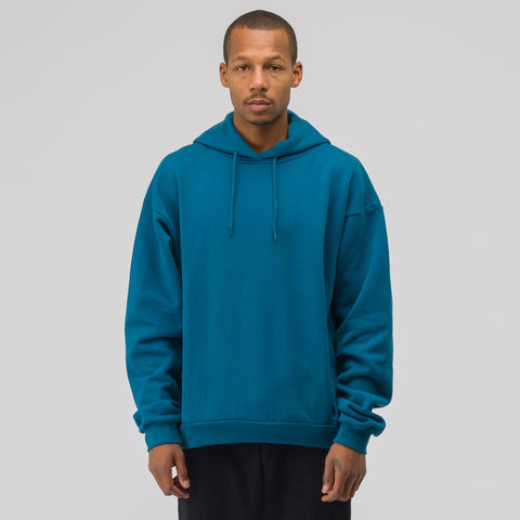 Martine Rose Classic Hoodie in Teal - Notre