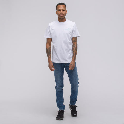 Martine Rose Classic Logo SS T-Shirt in White - Notre