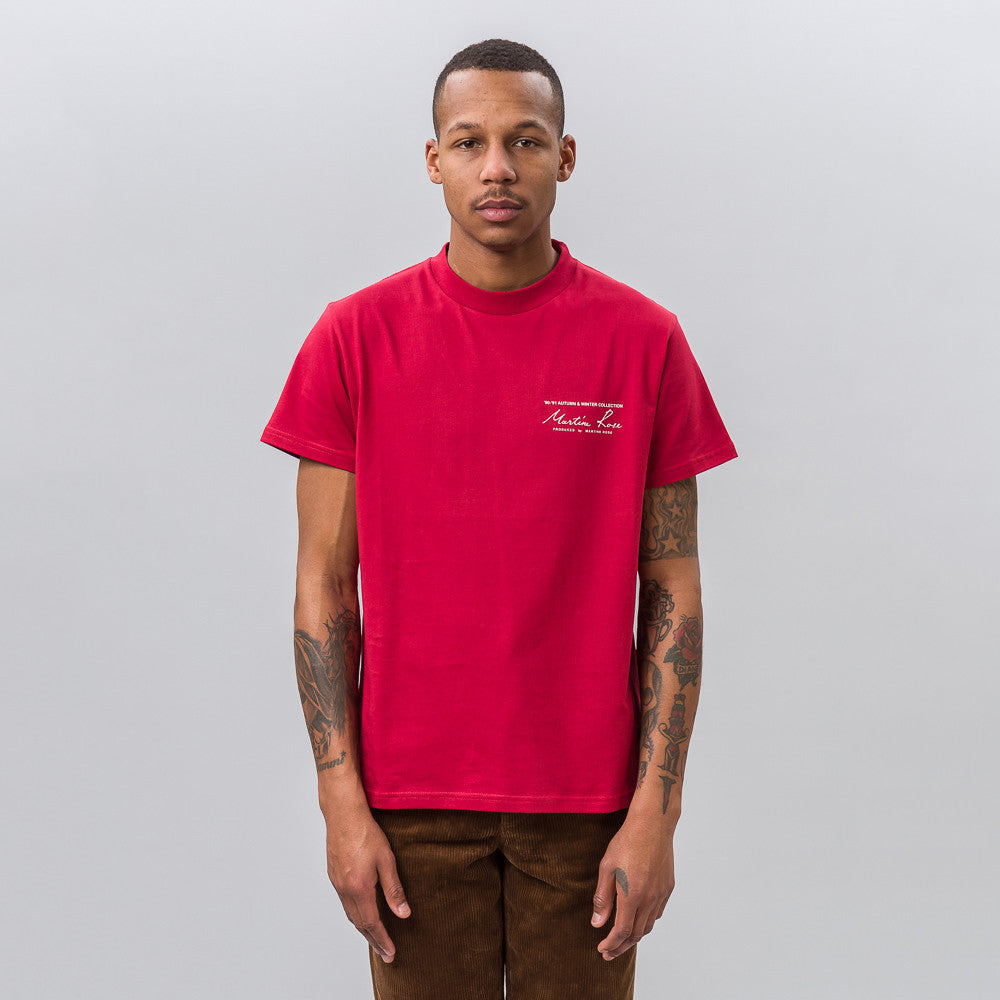 Classic Tee in Red