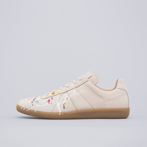 Maison Margiela 22 Paint Drop Replica Sneaker in Grey - Notre