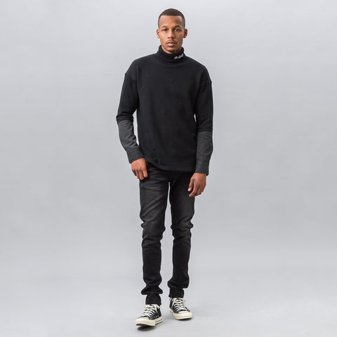 Midnight Studios Hybrid Embroidered Turtleneck - Notre