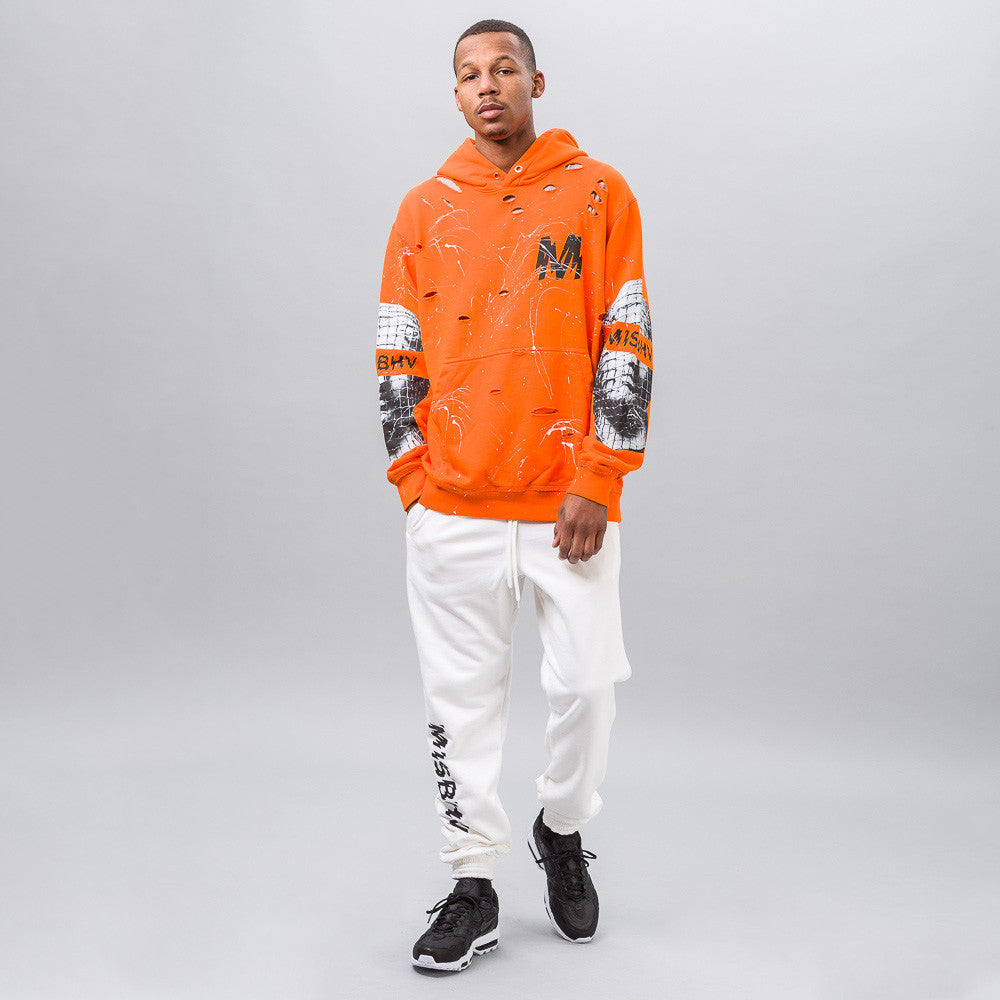 MISBHV Antique Hoodie in Orange - Notre