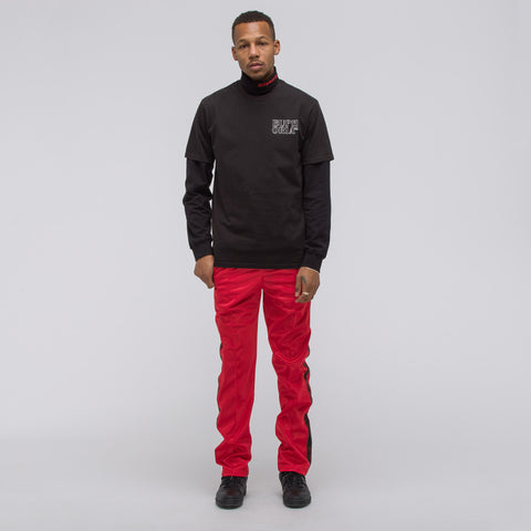 MISBHV Extacy Tracksuit Pants in Red - Notre