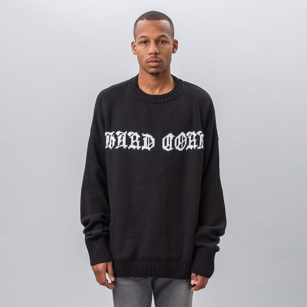 MISBHV Hard Core Oversized Knit Sweater - Notre