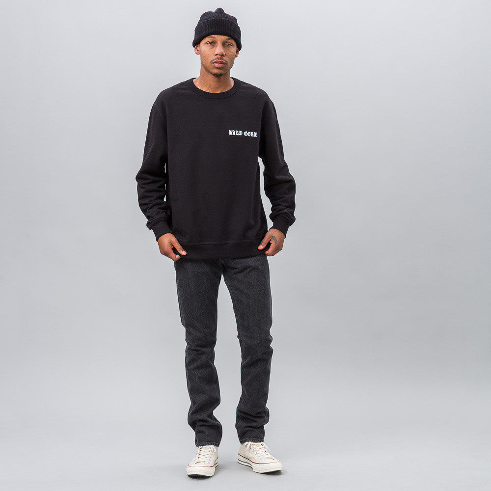 MISBHV - Hard Core Sweatshirt in Black - Notre - 1