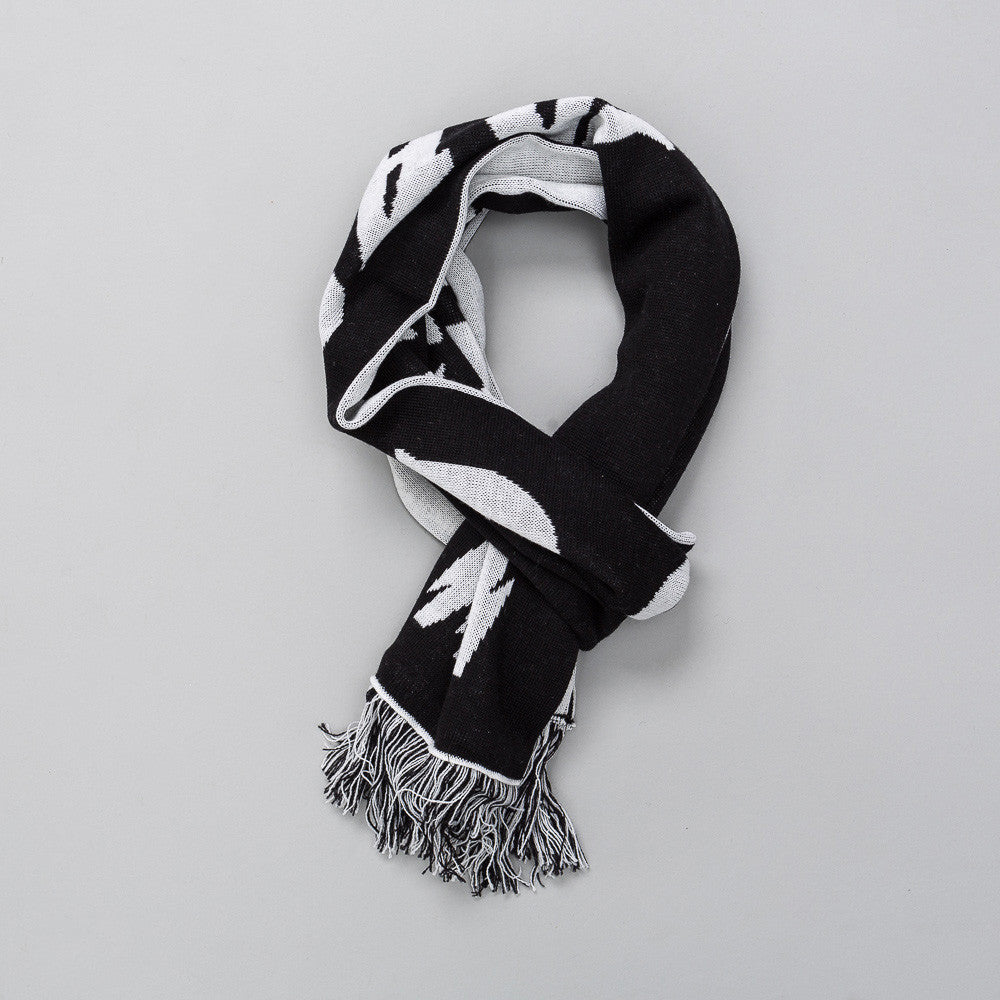 MISBHV Hard Core Wool Scarf in Black Notre
