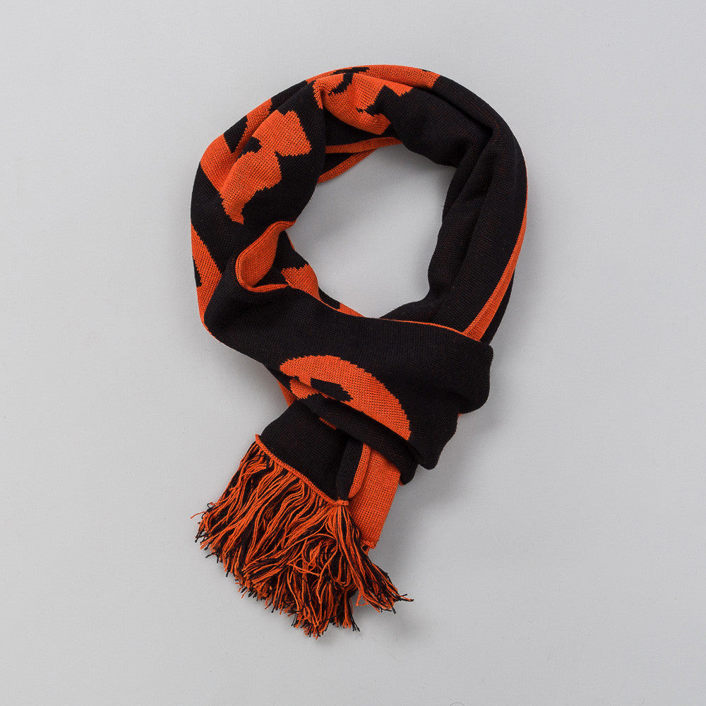 MISBHV Hard Core Wool Scarf in Orange NOtre