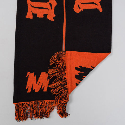 MISBHV Hard Core Wool Scarf in Orange - Notre