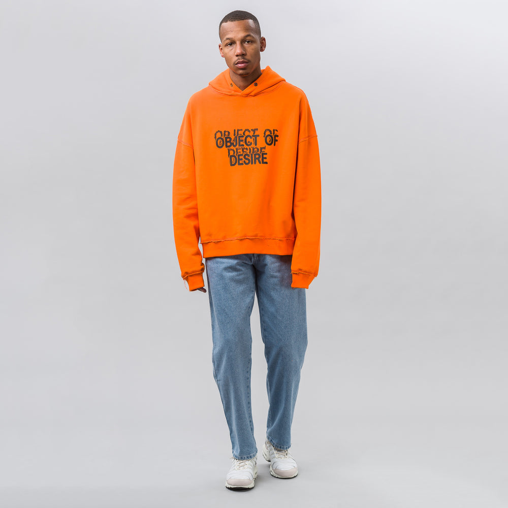 MISBHV Object of Desire Hoodie in Orange - Notre