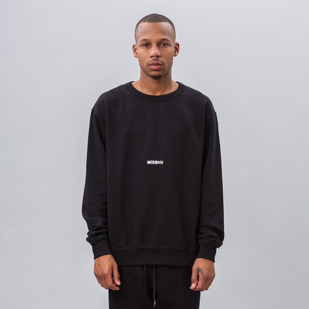 MISBHV Time of My Life Sweatshirt in Black 1