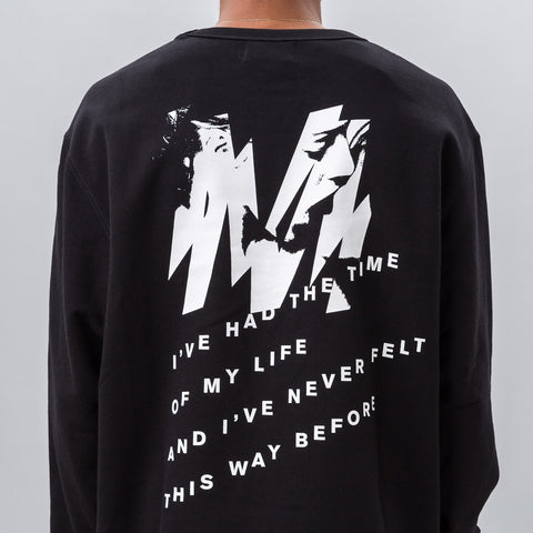 MISBHV Time of My Life Sweatshirt in Black - Notre