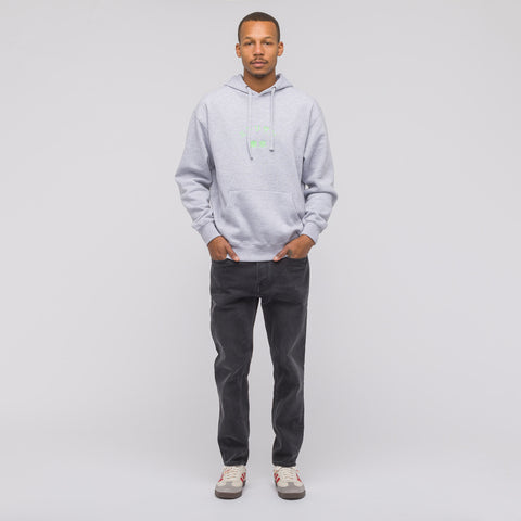 Mister Green Midori San Hoodie in Heather Grey - Notre