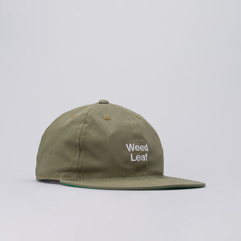 Mister Green x Cody Hudson Weed Leaf Cap in Faded Green - Notre