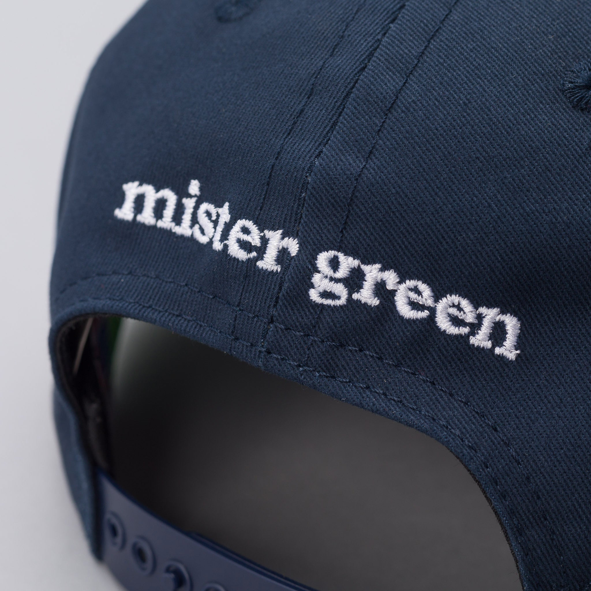 Mister green cody hudson peace sign cap in faded navy