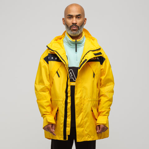 NAPA by Martine Rose EPOCH SUM Jacket in Yellow - Notre