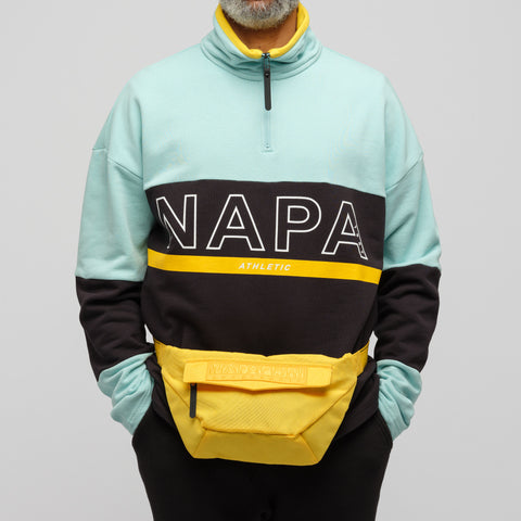 NAPA by Martine Rose H-ARCS Waist Bag in Yellow - Notre