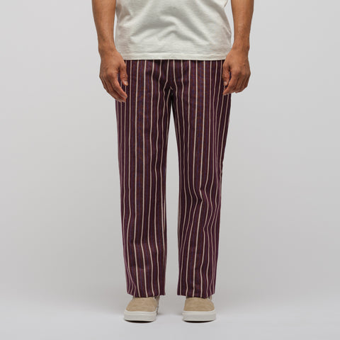NAPA by Martine Rose Risoul Jeans in Burgundy - Notre