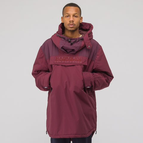 NAPA by Martine Rose Raindoo Jacket in Bordeaux - Notre