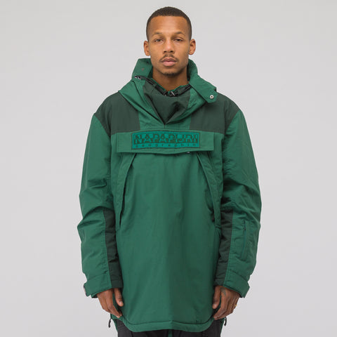 NAPA by Martine Rose Raindoo Jacket in Green - Notre