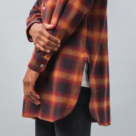 Needles Cardigan Shirt in Ombre Plaid - Notre