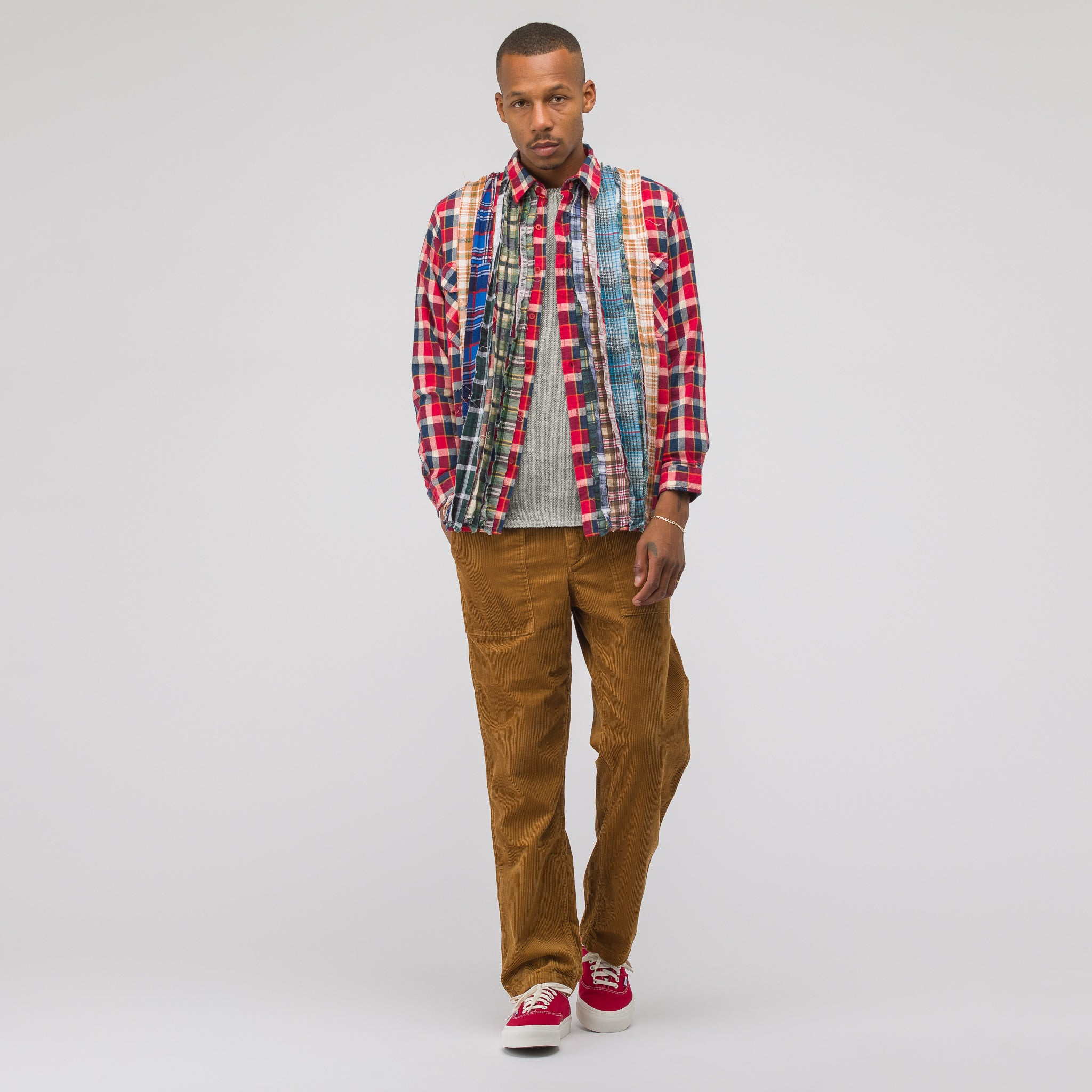 2018 Ribbon Flannel Shirt in Assorted