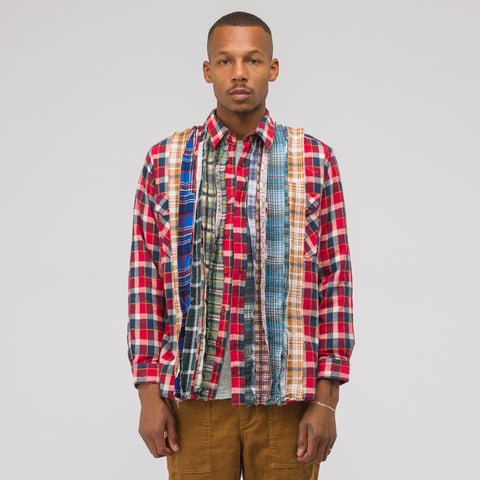 Needles 2018 Ribbon Flannel Shirt in Assorted - Notre