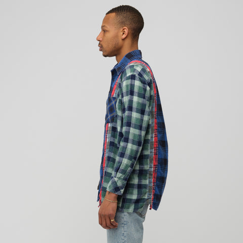 Needles 7 Cuts Flannel Shirt 2019 - Notre