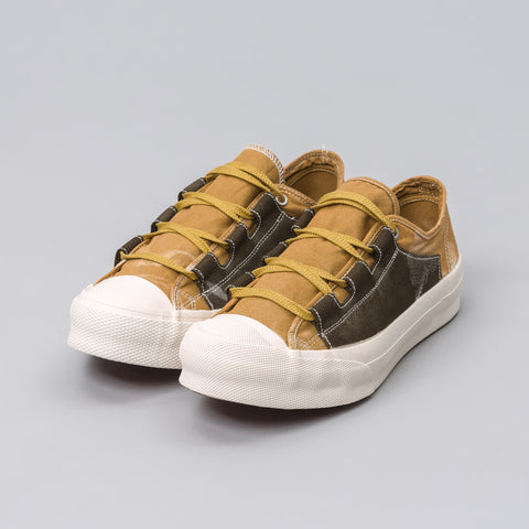 Needles Asymmetric Ghillie Sneaker in Brown - Notre