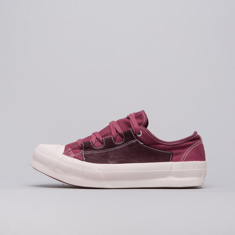 Needles Asymmetric Ghillie Sneaker in Bordeaux - Notre