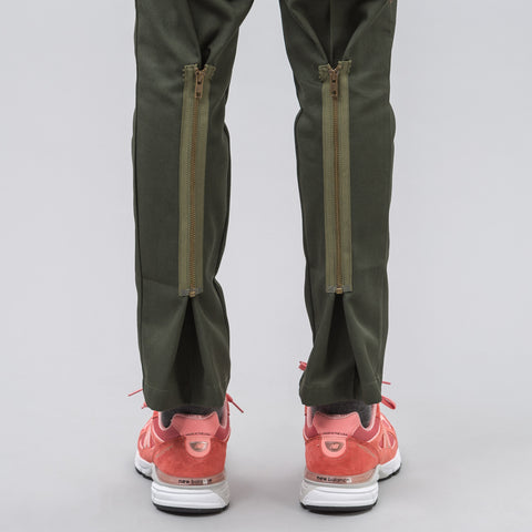 Needles Dickies 874 Zipper Pant in Olive - Notre