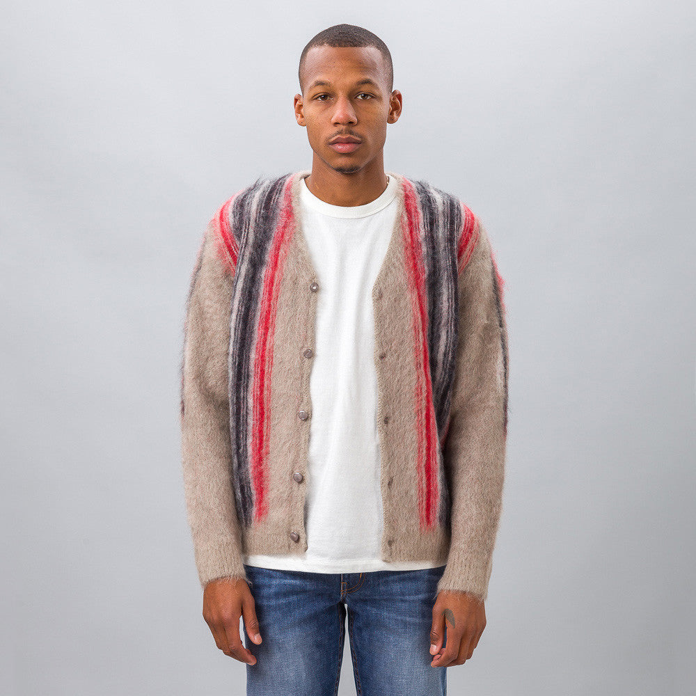 Needles Mohair Cardigan in Chimayo Model Shot