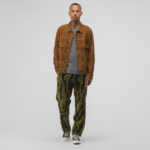 Needles Seam Pocket Pant in Olive - Notre