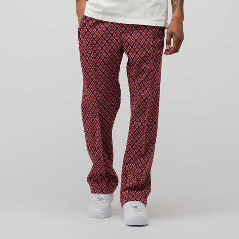 Needles Poly Jacquard Track Pant in Diamond - Notre