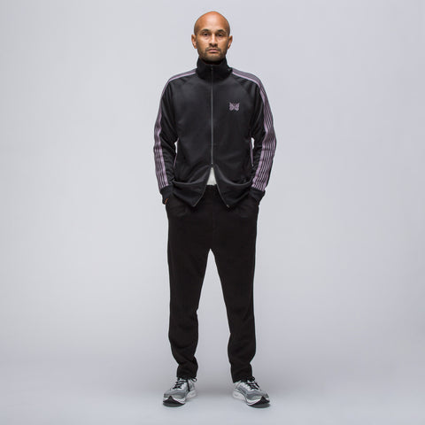 Needles Poly Smooth Track Jacket in Black - Notre