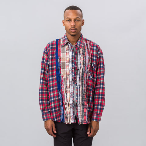 Needles Ribbon Flannel Shirt 2017 - Notre