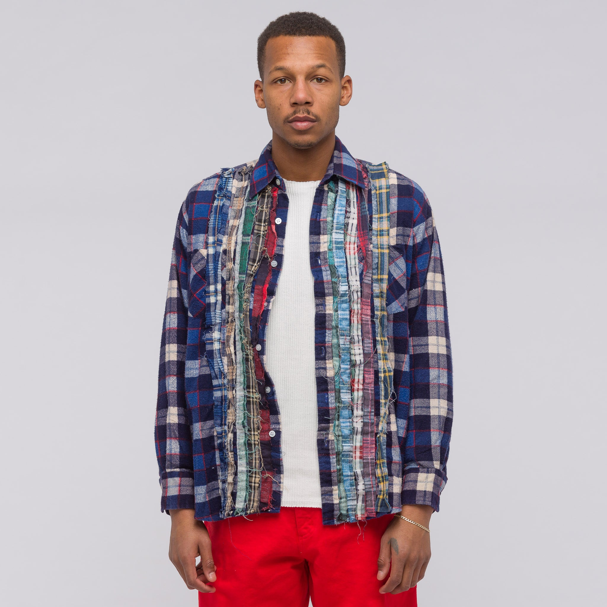 Ribbon Flannel Shirt (2018) in Assorted