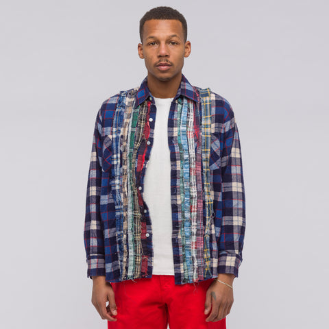 Needles Ribbon Flannel Shirt (2018) in Assorted - Notre