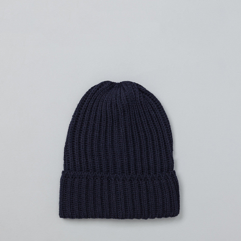 Needles Watch Cap in Navy Flat Shot