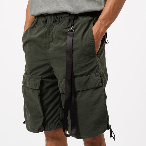 Nemen Combat Short in Military Green - Notre