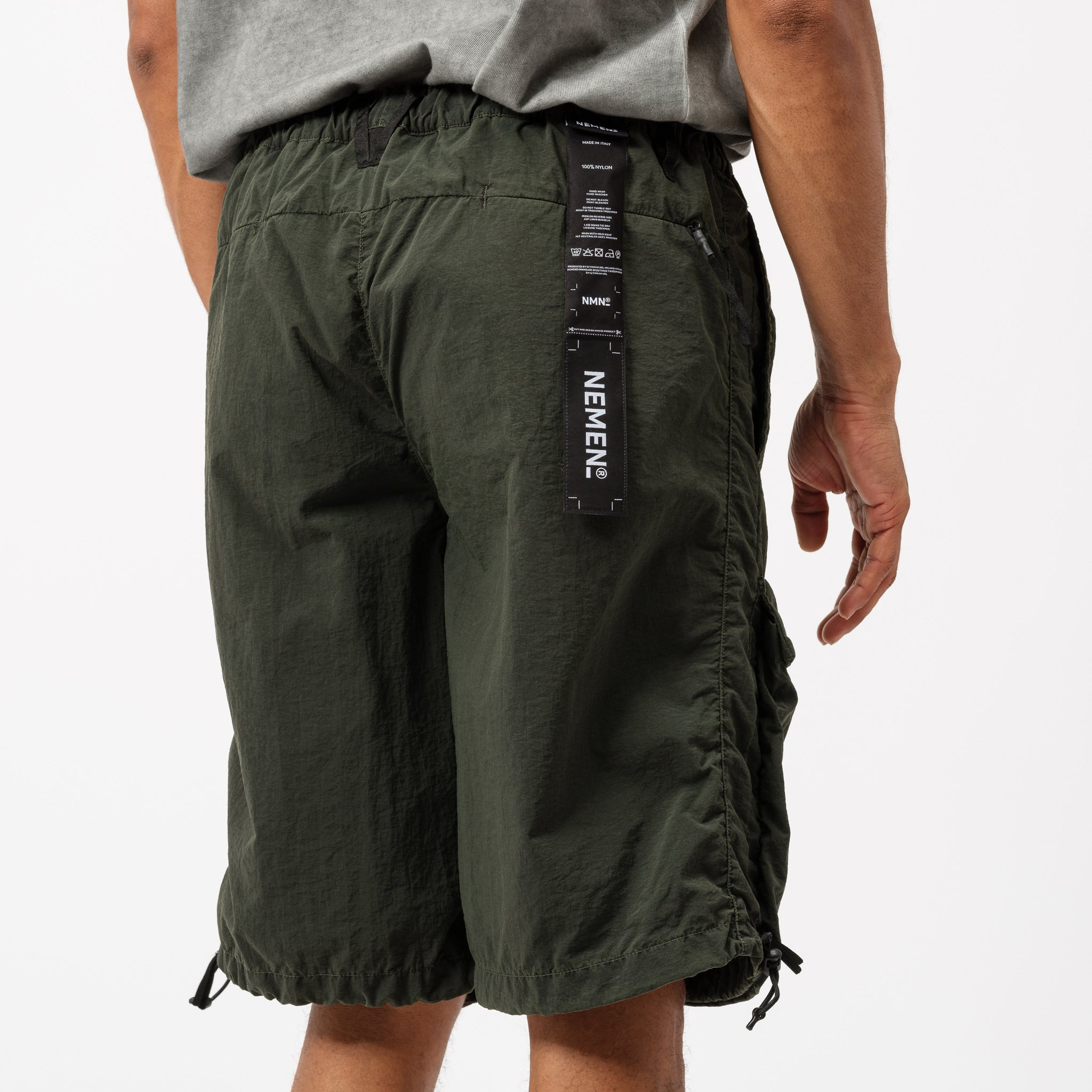 Combat Short in Military Green