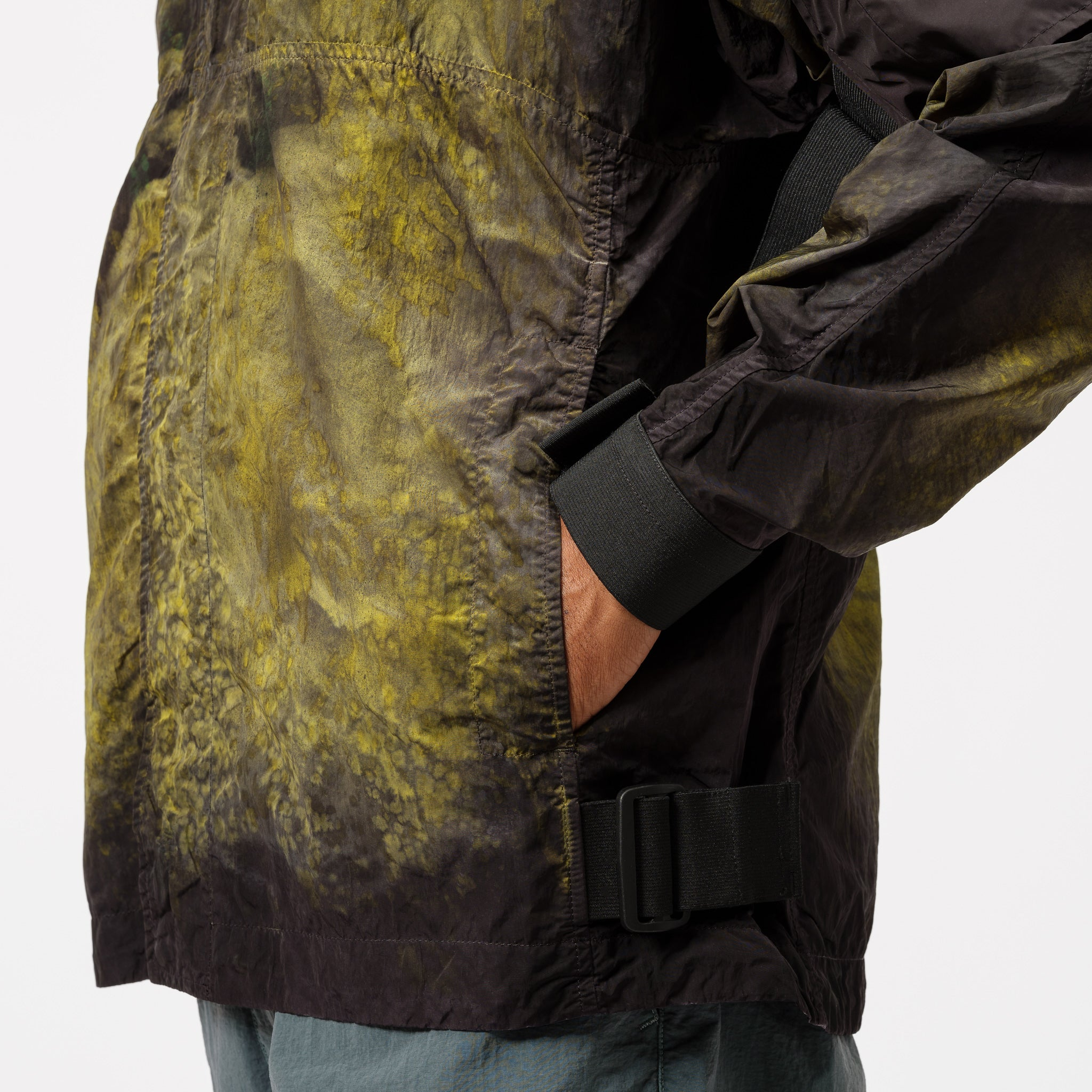 Guard Jacket in Acid Dye