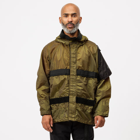 Nemen Marking Jacket in Military Green - Notre